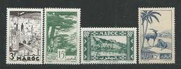 MAROC  N°193...196  **  TB  3 - Madagascar (1889-1960)
