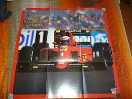 F1 POSTER FERRARI ALLA RISCOSSA MAXI F.TO 60X60 FABBRI EDITORE - Automobilismo - F1