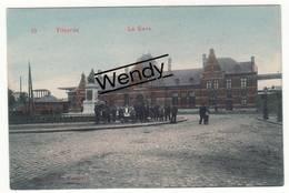 Vilvoorde (mooie Geanimeerde Gekleurde Kaart - La Gare N° 10) - Vilvoorde