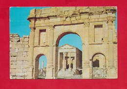 CARTOLINA VG TUNISIA - SBEITLA - Le Forum - 10 X 15 - ANN. 1976 - Tunisia