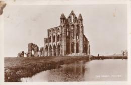 AR30 The Abbey, Whitby - RPPC - Whitby