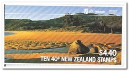 Nieuw Zeeland 1987, Postfris MNH, Birds, ( 2 Booklets, Carnets ) - Boekjes