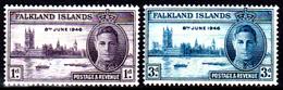 Falkland-0037 - Emissione 1946 (+) LH - Senza Difetti Occulti. - Falkland