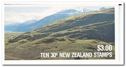 Nieuw Zeeland 1987, Postfris MNH, Birds, ( Booklet, Carnet ) - Boekjes