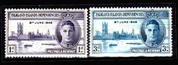 Falkland-0038 - Emissione 1946 (+) LH - Senza Difetti Occulti. - Falkland