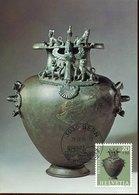 45681 Switzerland, Maximum 1994 Archelogy, Bronze  Grave Hill Hydria, Pro Patria 1972 - Cartoline Maximum
