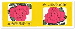 Nieuw Zeeland 1977, Postfris MNH, Flowers, Roses ( Booklet, Carnet ) - Boekjes