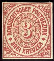 North German Confederation. Sc #9. Mint. VF. OG. - North German Conf.