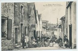 Vitré-Rue Du Rachapt-Les Tricoteuses (CPA) - Vitre