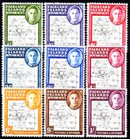 Falkland-0039 - Emissione 1946-48 (+) LH - Senza Difetti Occulti. - Falkland