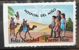 PUERTO RICO. FELIZ NAVIDAD - HOSPITAL DEL NIÑO. NUEVO SIN GOMA (*) - Puerto Rico