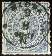 North German Confederation. Sc #10. Used. - North German Conf.