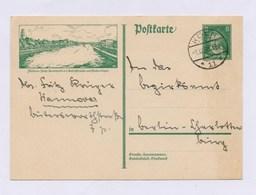 DR Postkarte P 178/15 Mülheim-Rühr, Stadthalle Mit Stempel KÖLN 1928 - Ganzsachen