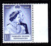 Falkland-0040 - Emissione 1948 (++) MNH - Senza Difetti Occulti. - Falkland
