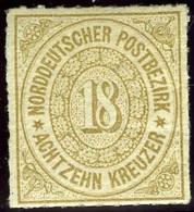 North German Confederation. Sc #11. Mint. OG. - North German Conf.