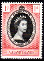 Falkland-0041 - Emissione 1953 (++) MNH - Senza Difetti Occulti. - Falkland