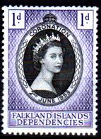 Falkland-0042 - Emissione 1953 (+) HINGED - Senza Difetti Occulti. - Falkland