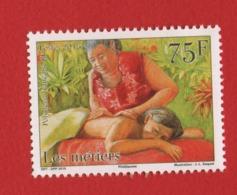 Polynésie Française 2015 °° 1079 Métiers Masseuse (WP10) - Polynésie Française