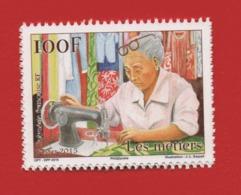 Polynésie Française 2015 °° 1082 Métiers Couturière (WP10) - Polynésie Française