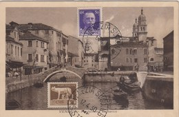 VENEZIA-FONDAMENTA BARBARICO-CARTOLINA NON VIAGGIATA -OBLITERATA IL 17-4-1930 - Venezia (Venice)