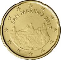 San Marino 2019  20 Cent  UNC Uit De BU  Zeldzaam !! - UNC Du Coffret  RARE !!! . - San Marino