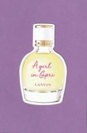 LANVIN  *** A GIRL IN  CAPRI *** Nouveauté ! - Perfume Cards