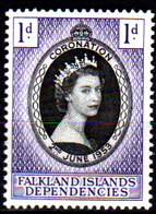Falkland-0043 - Emissione 1953 (++) MNH - Senza Difetti Occulti. - Falkland