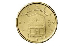 San Marino 2019  10 Cent  UNC Uit De BU  ZEER Zeldzaam !! - UNC Du Coffret  EXTREME RARE !!! . - San Marino