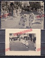 Bolbec Seine Maritime Normandie Kermesse 1957 ? Beau Format Très Bon état - Persone Identificate