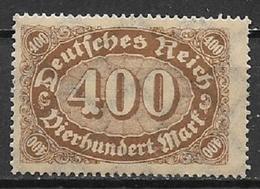 GERMANIA REICH REP.DI WEIMAR  1921-22 SOGGETTI VARI UNIF. 158 MNH XF - Nuovi
