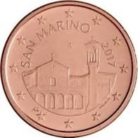 San Marino 2019  5 Cent  UNC Uit De BU  ZEER Zeldzaam !! - UNC Du Coffret  EXTREME RARE !!! . - San Marino