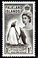 Falkland-0044 - Emissione 1955-57 (++) MNH - Senza Difetti Occulti. - Falkland