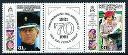 Georgia Del Sur (Falkland) Nº 206/7 Nuevo - Georgias Del Sur (Islas)