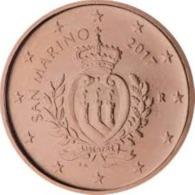San Marino 2019  1 Cent  UNC Uit De BU  ZEER Zeldzaam !! - UNC Du Coffret  EXTREME RARE !!! . - San Marino