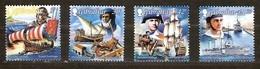 Gibraltar 1999 Yvertnr 877-880 ** MNH  Cote 10,00 Euro  Bateaux Boten Ships Australia '99 - Gibraltar