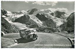 Sustenstrasse Steingletscher Gwächtenhorn U. Tierberge ( Montagne Car Autocar Autobus Ancien ) - BE Berne