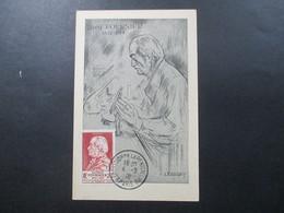 Frankreich 1946 FDC / MK Jean Alfred Fournier Stempel Exosition De La Penicilline Paris Mit Zeichnung Von A. Fournier - France