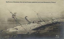 China, HONG KONG, HMS Phoenix Capsized By Typhoon (1906) Postcard - China (Hong Kong)