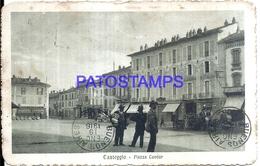 114148 ITALY CASTEGGIO SQUARE CAVOUR BREAK POSTAL POSTCARD - Italien