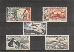 Saint Pierre Et Miquelon_ Poste Aérienne N°21/25 (1949/57 - Airmail