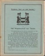 Tienen, Tirlemont,Schoolboekje Aardrijkskunde Begin Jaren '40, Met Tienen Als Centraal Gegeven ! - Documentos Antiguos