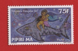 Polynésie Française 2014 °° 1078 Légende   (WP10) - Polynésie Française