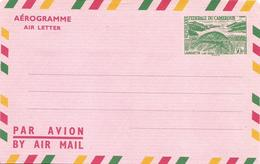 Cameroun Cameroon 1963 Manatee Lamatin 30f Aerogramme - Cameroon (1960-...)