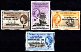Falkland-0045 - Emissione 1956 (++) MNH - Senza Difetti Occulti. - Falkland