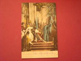 Paris - Fresques Du Panthéon - Sacre De Charles VII à Reims - Arrondissement: 05