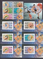 Guinea 05.12.1983 IMPERF Mi # 964-69B Bl 71-77B, Sarajevo Winter Olympics (I) MNH OG - Invierno 1984: Sarajevo