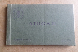 PAQUEBOT ATHOS II - Carnet De 12 Cartes Complet ( Bateau, Navire ) - Paquebots