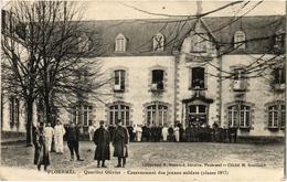 Ploermel Quartier Olivier Casernement Des Jeunes Soldats Classe 1917 Belle Carte Guerre 14/18  Militaire écrite En 1916 - Ploërmel