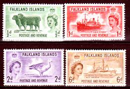 Falkland-0046 - Emissione 1955-57 (+) LH - Senza Difetti Occulti. - Falkland