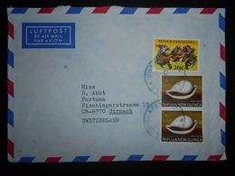Papouasie-nouvelle-guine , Lettre De Alexishafen 1972 Pour Sirnach - Papouasie-Nouvelle-Guinée
